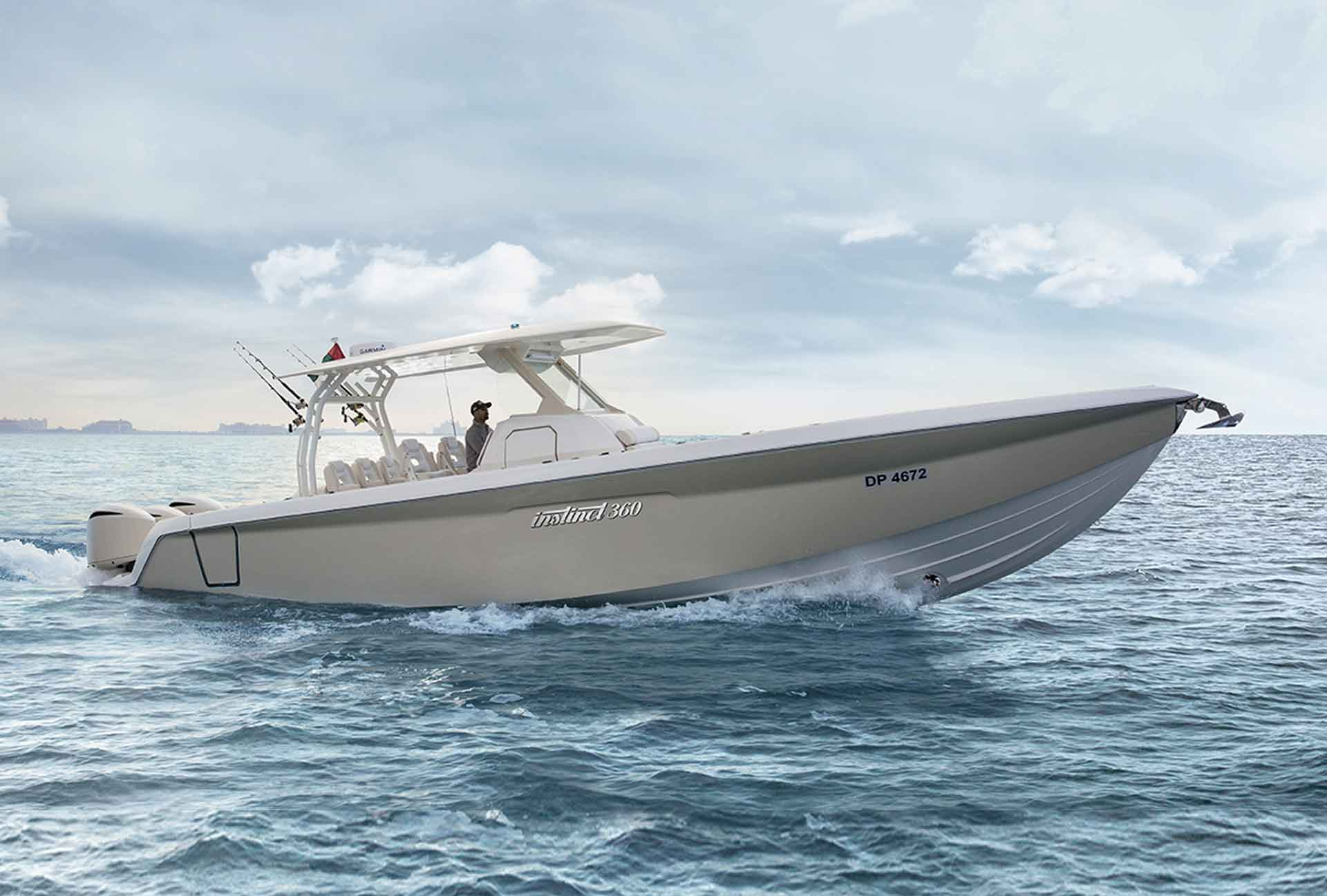 Instinct Marine to Launch the First Boat Specifically Designed for the GCC at the Dubai International Boat Show